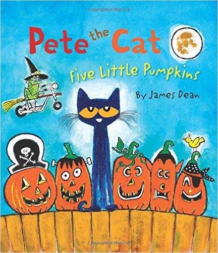11. Pete the Cat: Five Little Pumpkins by James Dean