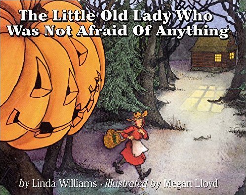10. The Little Old Lady Who Was Not Afraid of Anything by Megan Lloyd