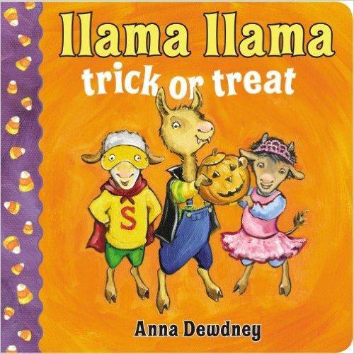 16. Llama Llama Trick or Treat  by Anna Dewdney