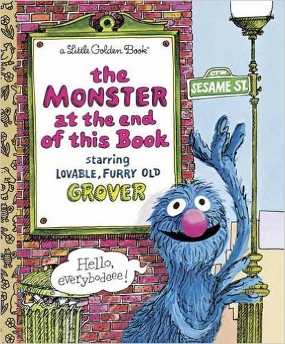 21. The Monster at the End of This Book by Jon Stone