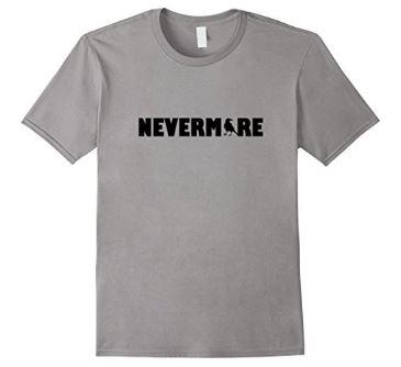 Nevermore Edgar Allan Poe T-Shirt - *A Buzz Books original design
