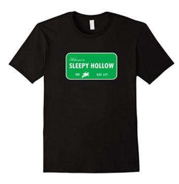 Welcome to Sleepy Hollow Sign T-Shirt - *A Buzz Books original design