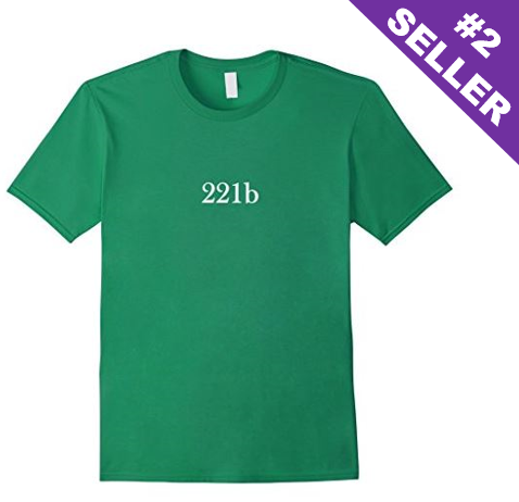 221b Sherlock Holmes T-Shirt - Also available in Long Sleeve!