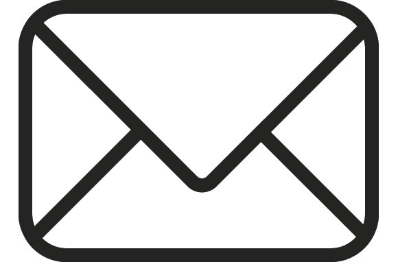 Clicking on this giant envelope will open your email tool and allow you to send me an email. Then, someone from my team will get back in touch with you. By someone on my team, I mean me.