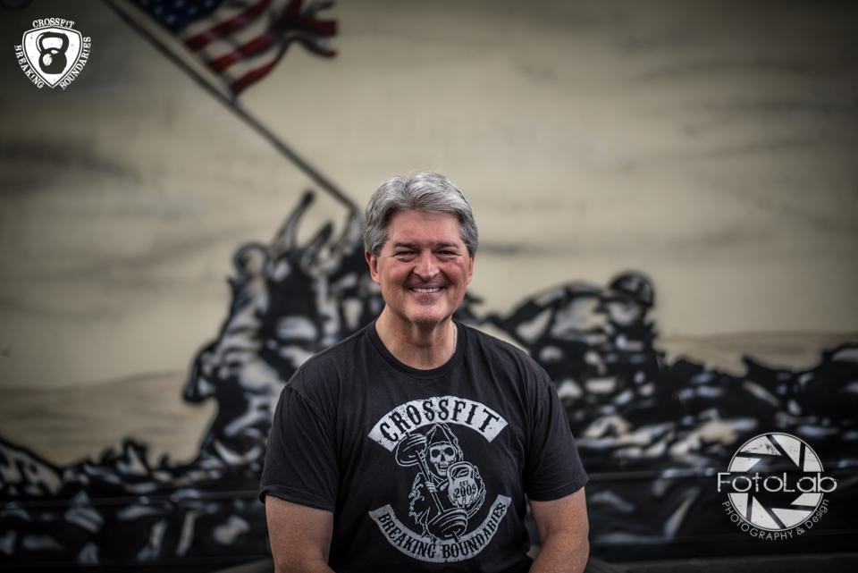 Jim and I met at  CrossFit Breaking Boundaries  in Roswell, GA