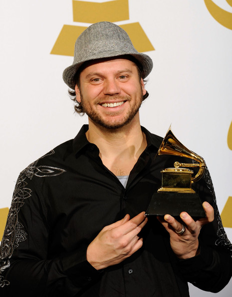 Tai Anderson winning Grammy Award