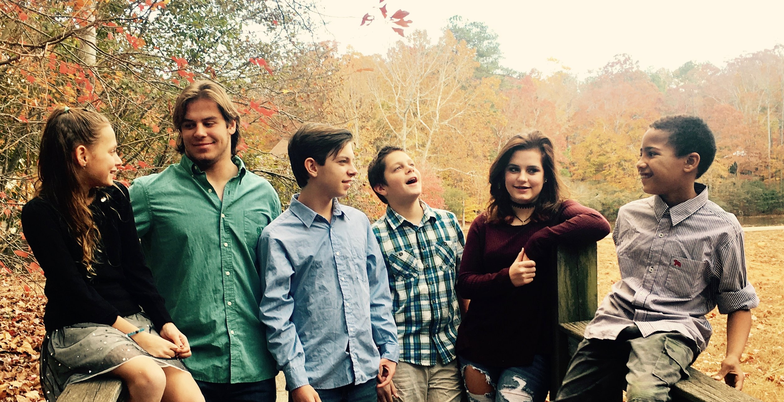 My kids for Thanksgiving