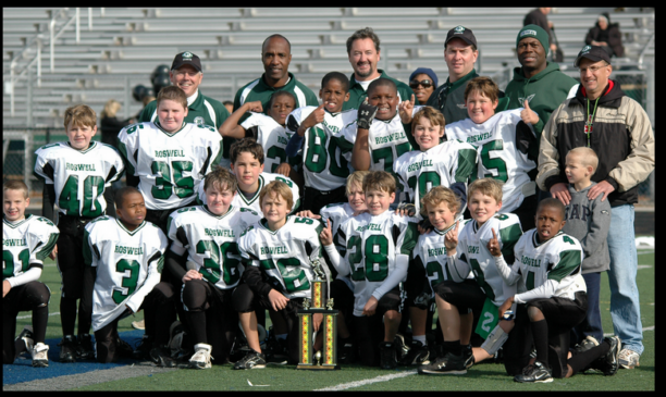 Class of 2017 after winning the 4th grade championship.
