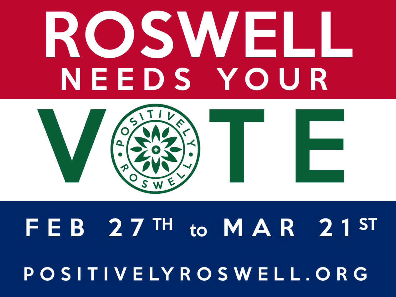 Follow Positively Roswell if you want to elevate the tone and engagement of our local politics.
