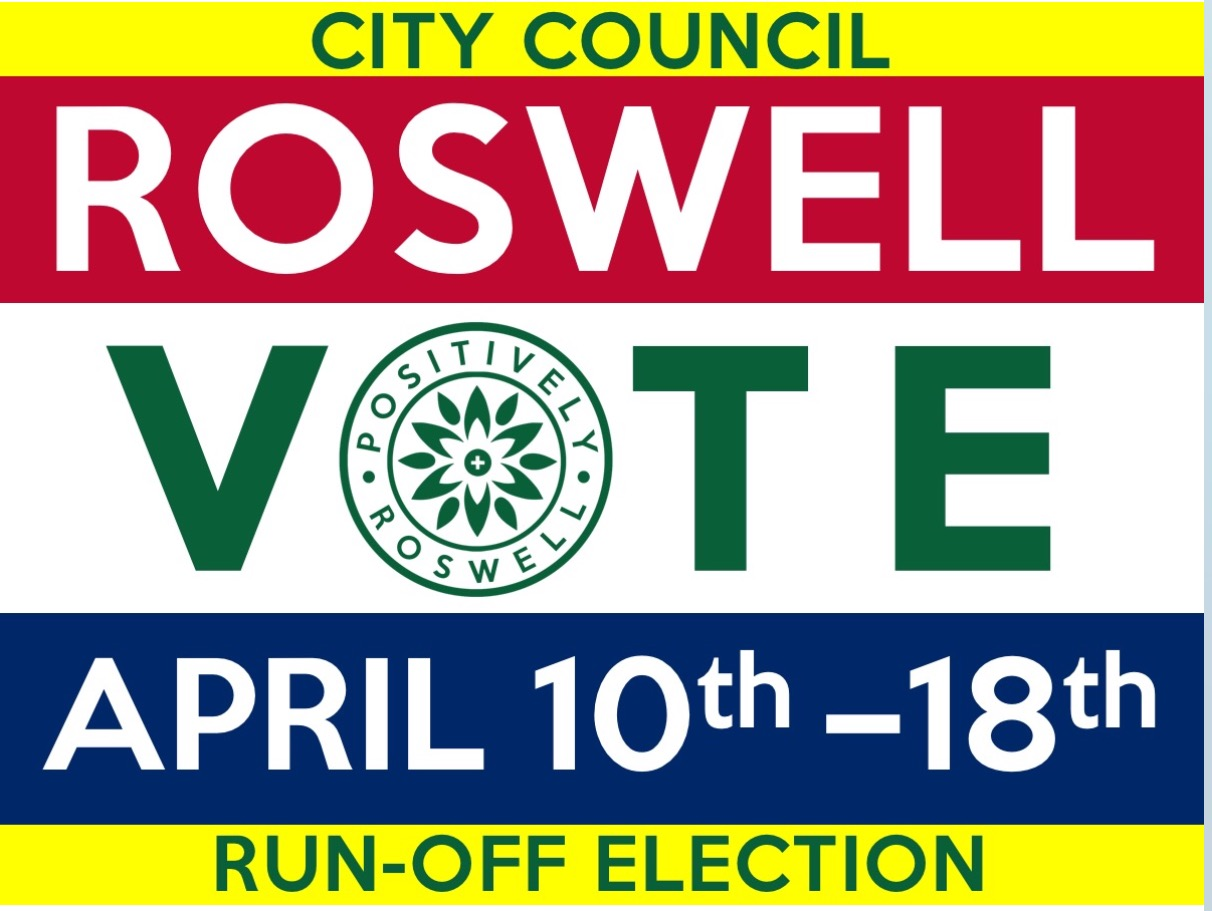 Check out  Positively Roswell  as a resource to stay informed and lend your voice to a positive future for our city.