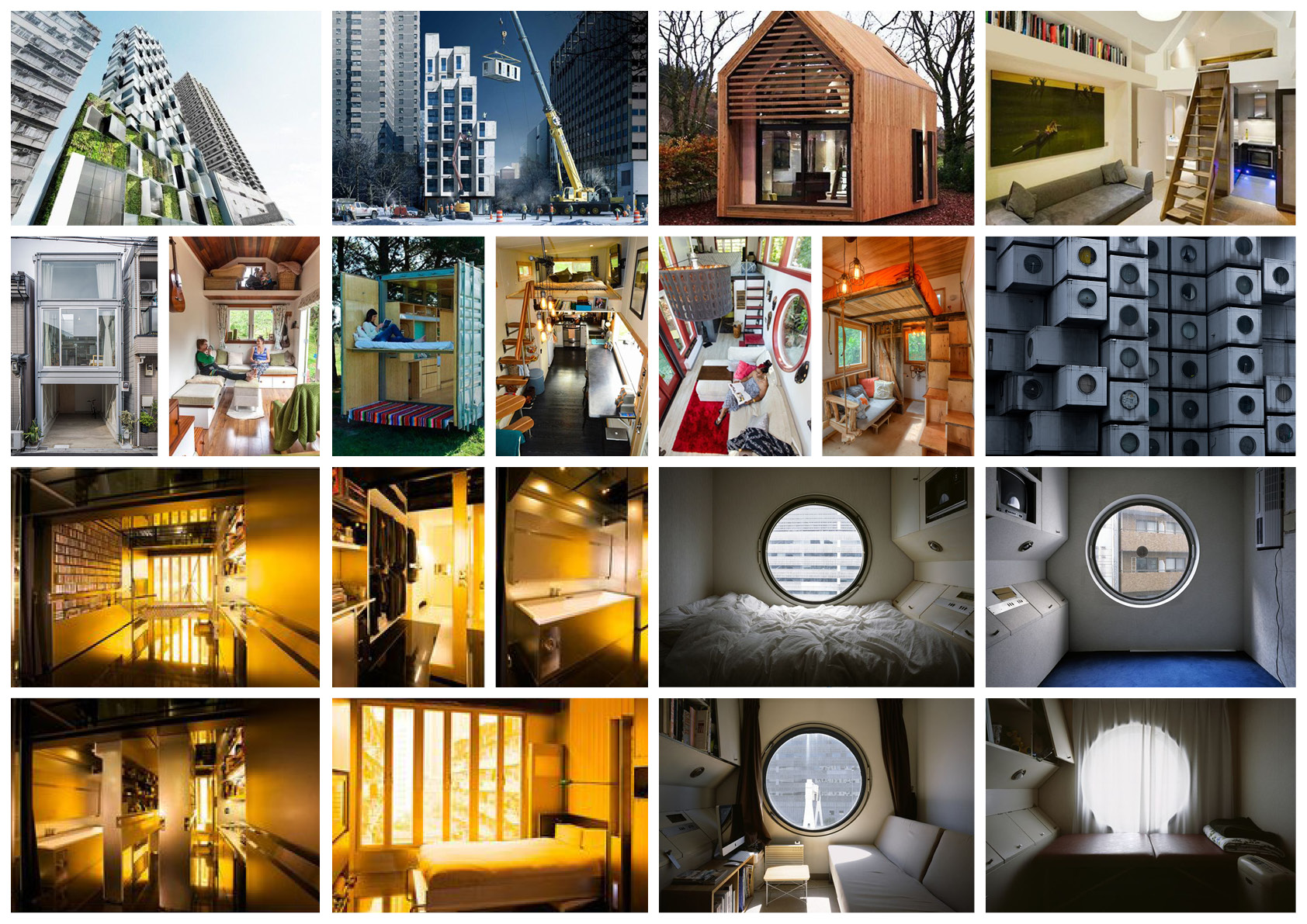 NYC Micro Dwellings Pinterest Board