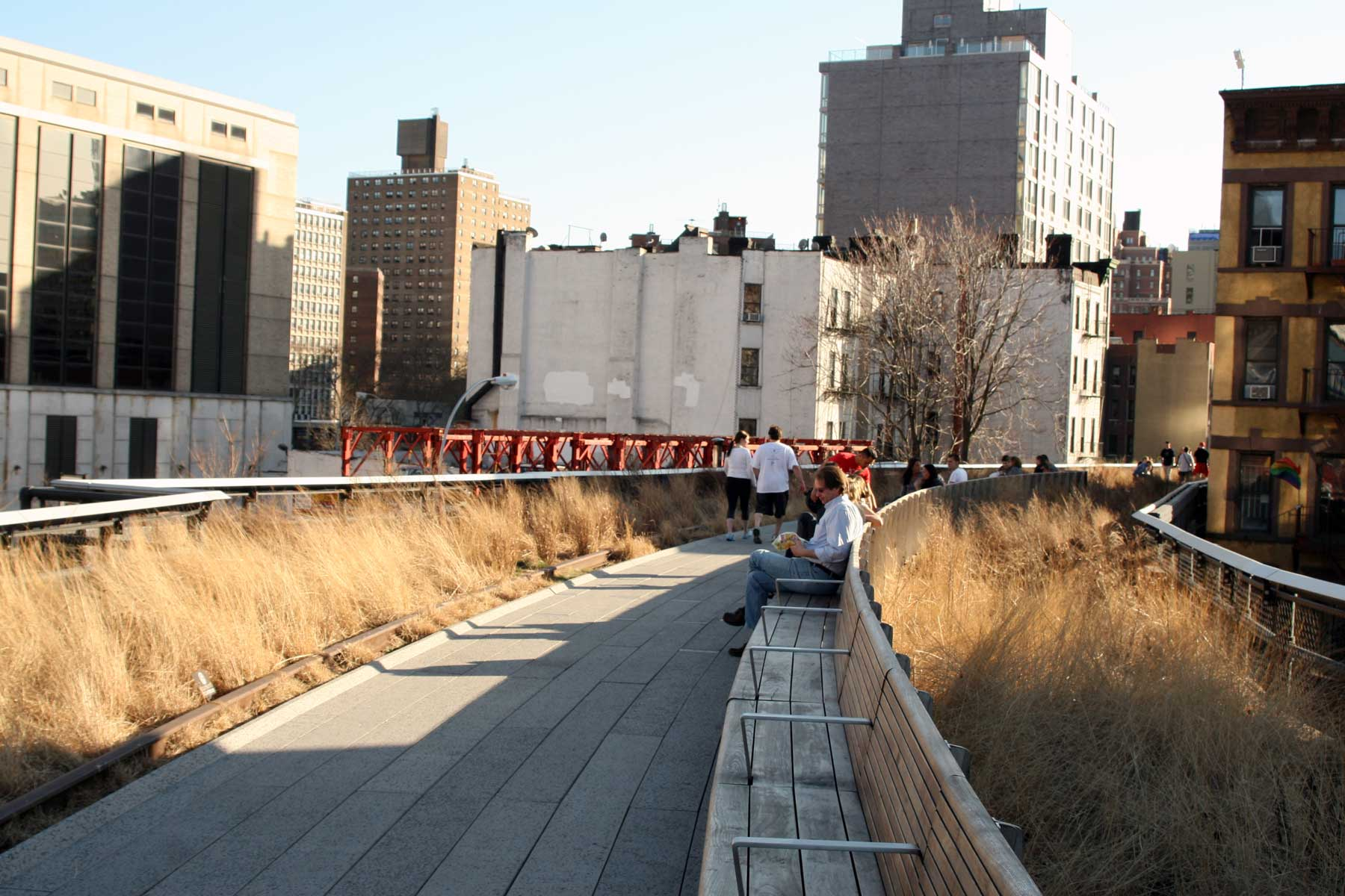 Photograph of materials used on the Highline