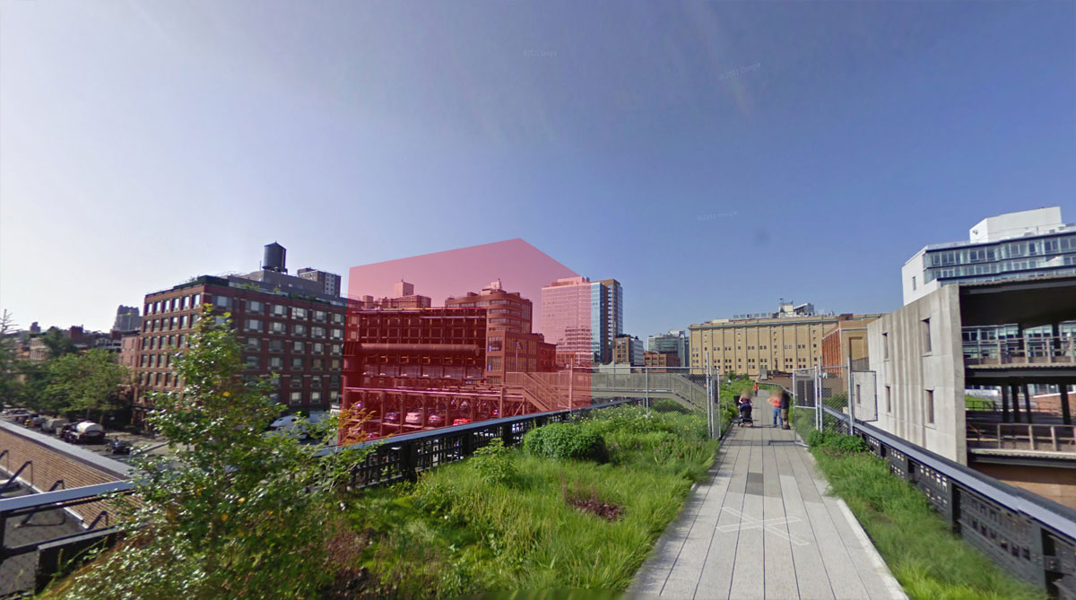 NYC Micro Dwellings Site Google Street View 01