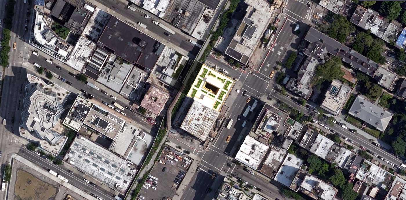 NYC Micro Dwellings' Site Plan
