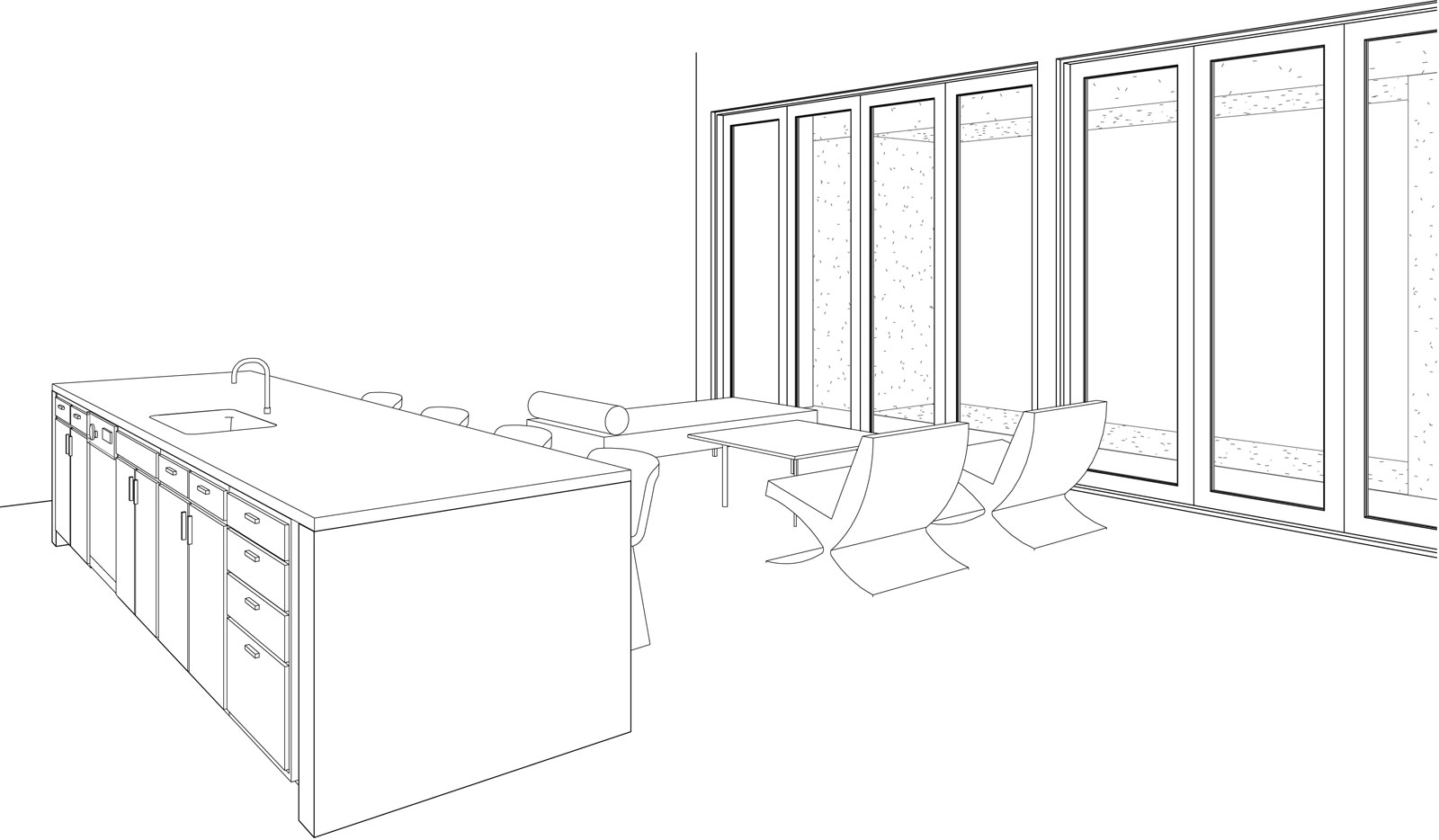 One-Seneca-Tower - Interior Perspective
