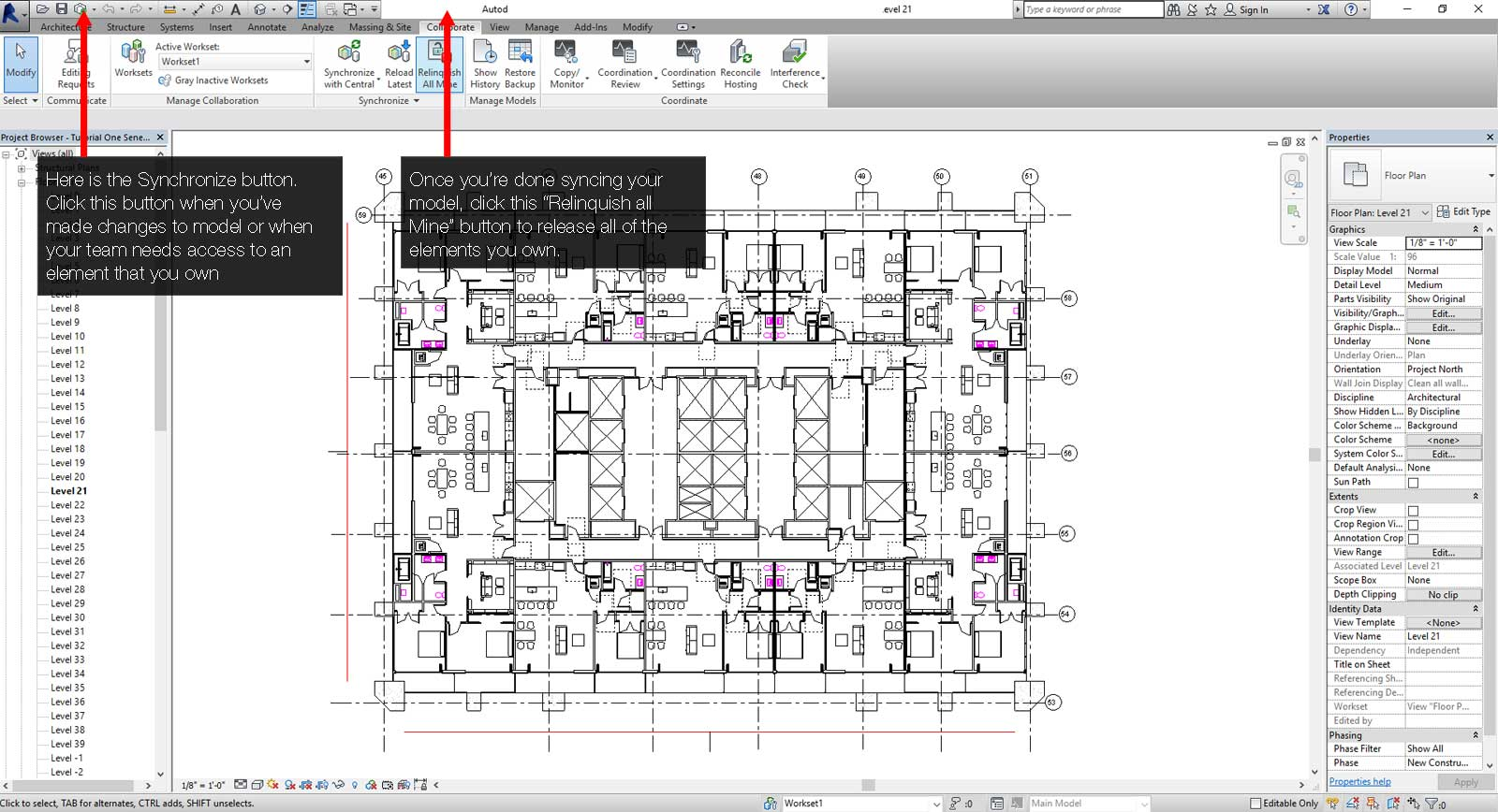 How to Sync a Revit File