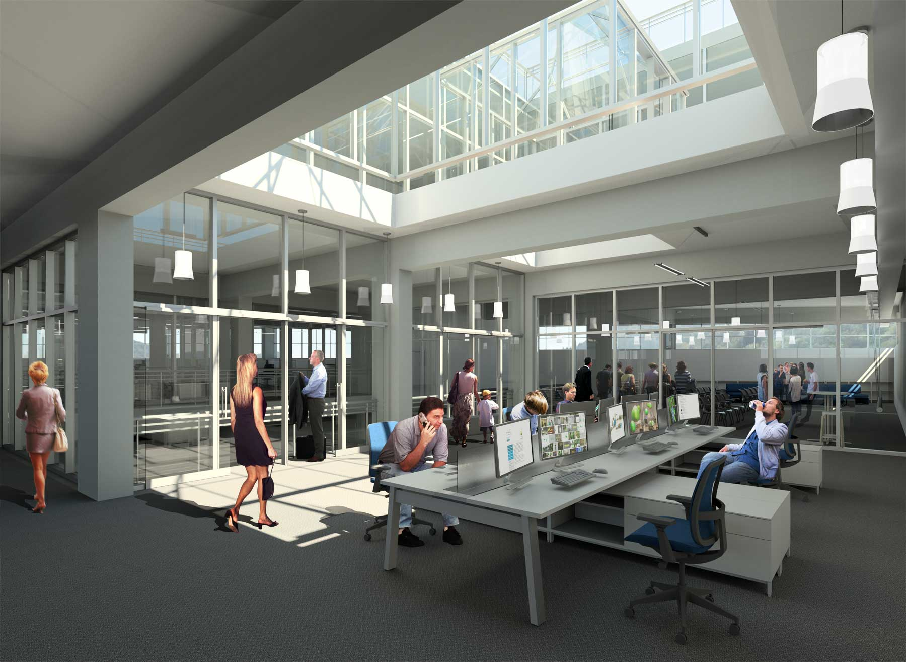 Training area for new staff or seasonal interns