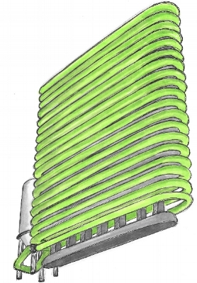 Algae - Closed Loop Tubular Photobioreactor