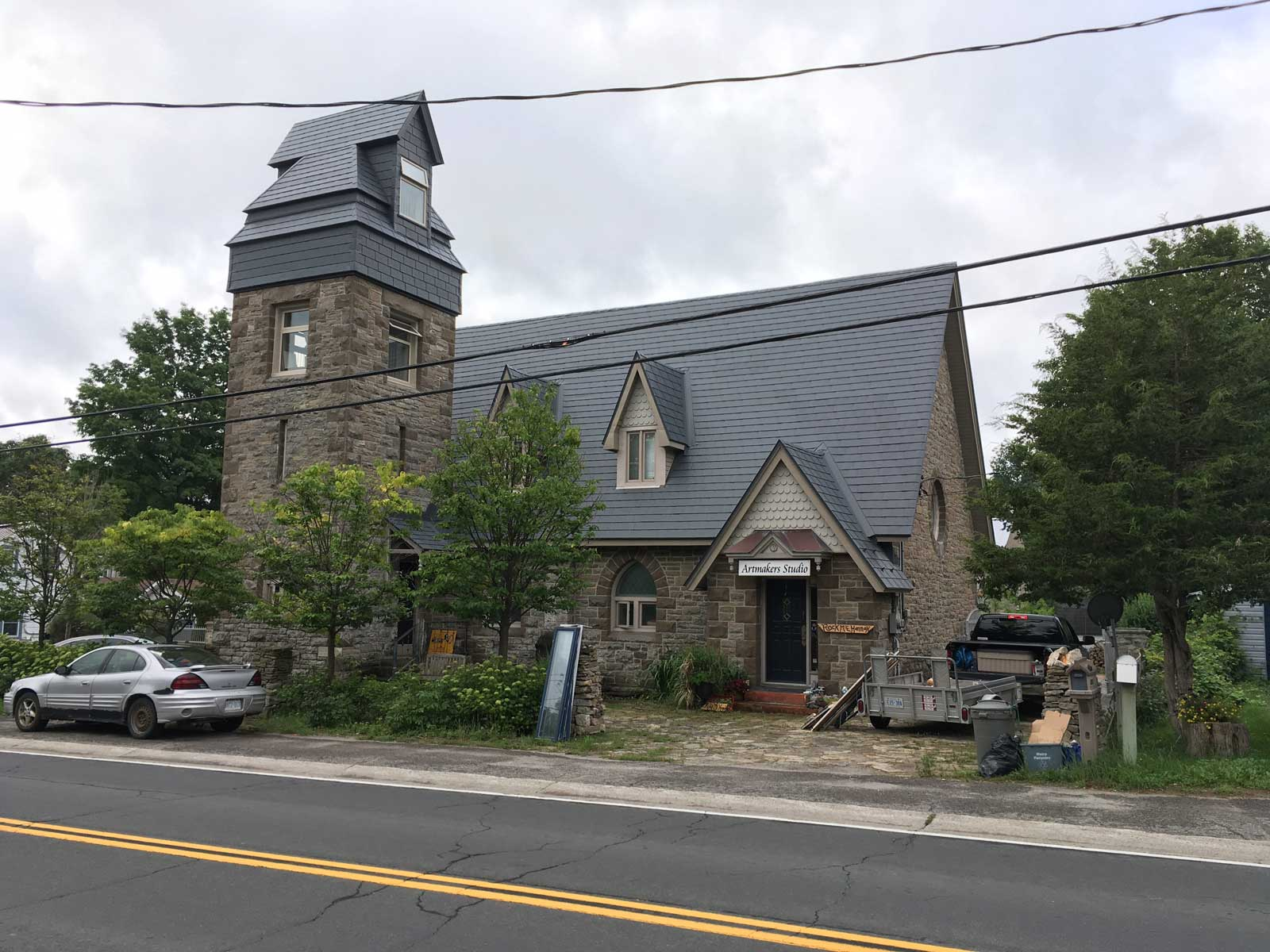 Church Home Exterior