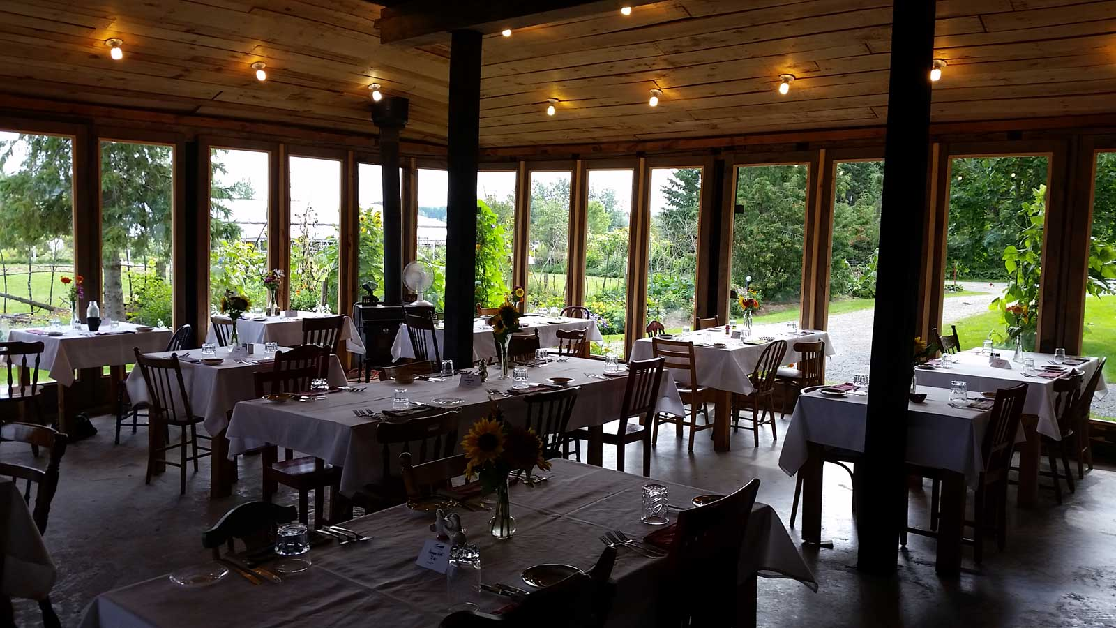Mariposa Farms Restaurant Interior