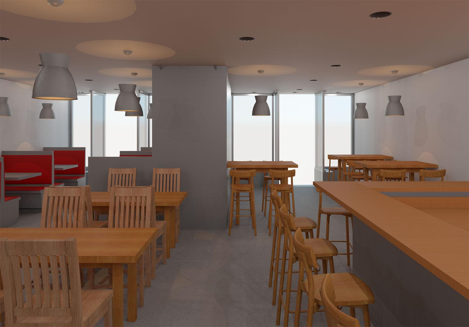 5x30 Restaurant Initial Render