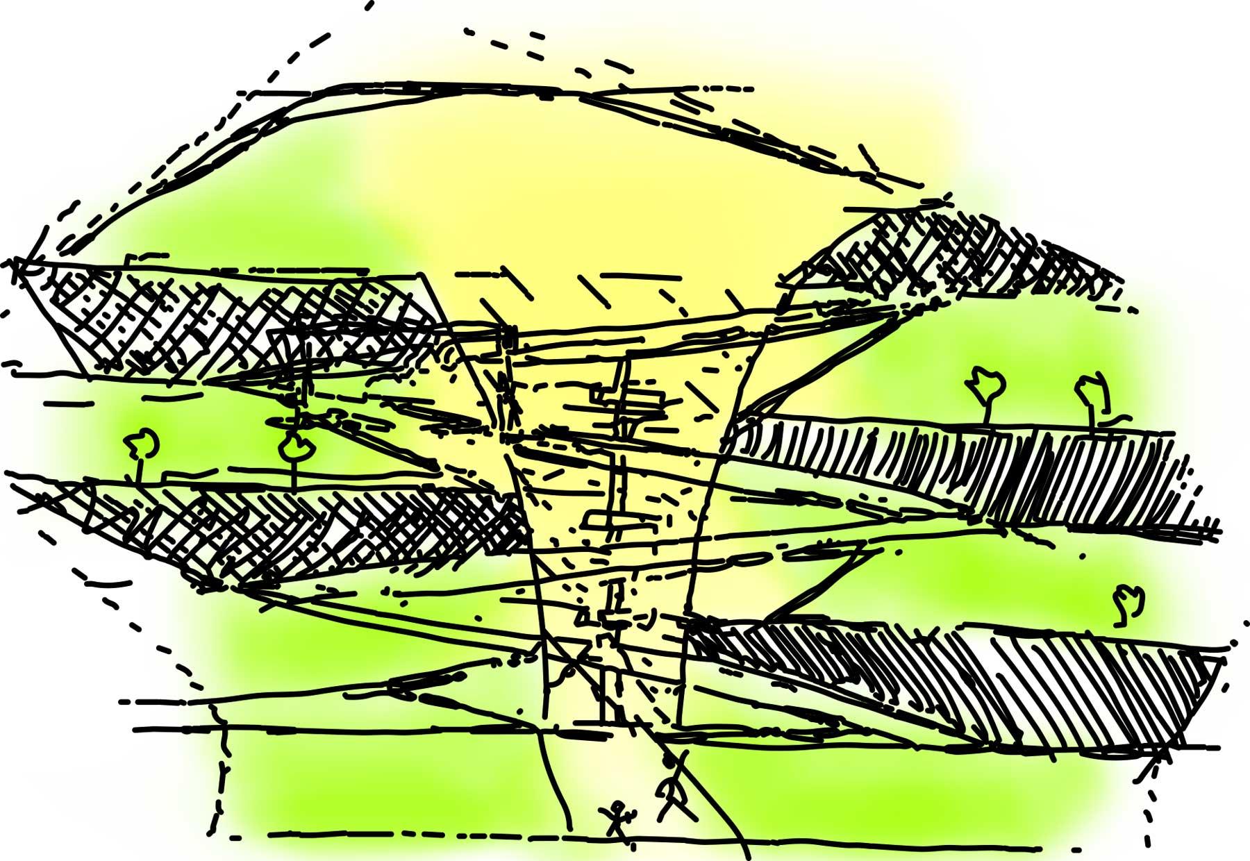Smart Park Concept Diagram 2