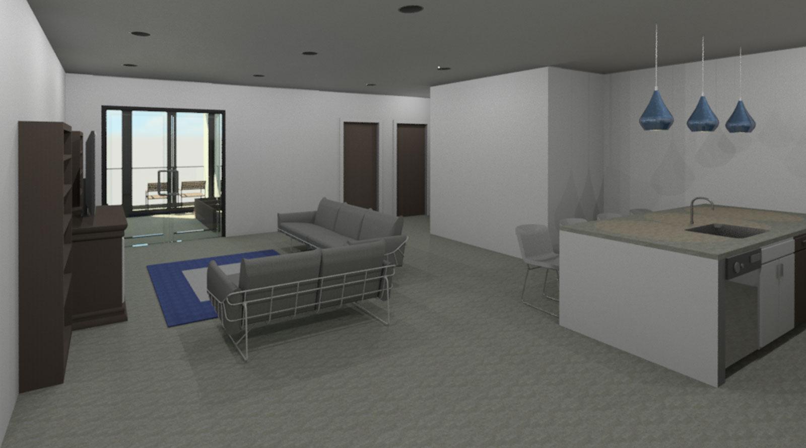 2 Bedroom Interior Draft 01