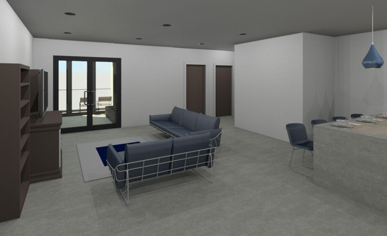2 Bedroom Interior Draft 02