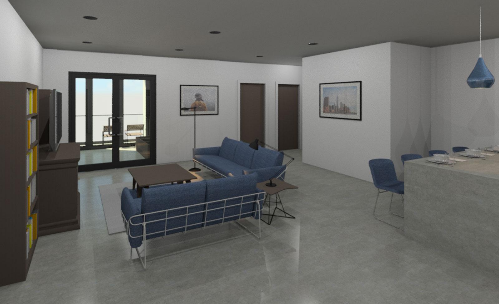 2 Bedroom Interior Draft 03
