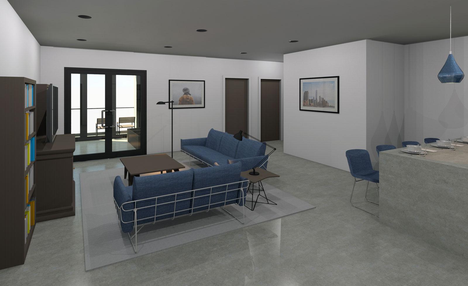 2 Bedroom Interior Post Processed 01