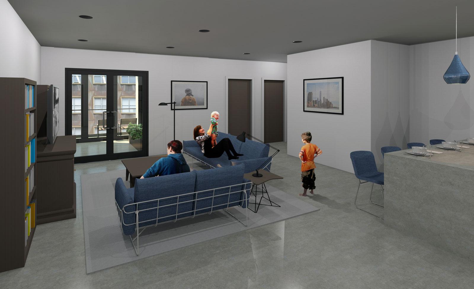 2 Bedroom Interior Post Processed 03
