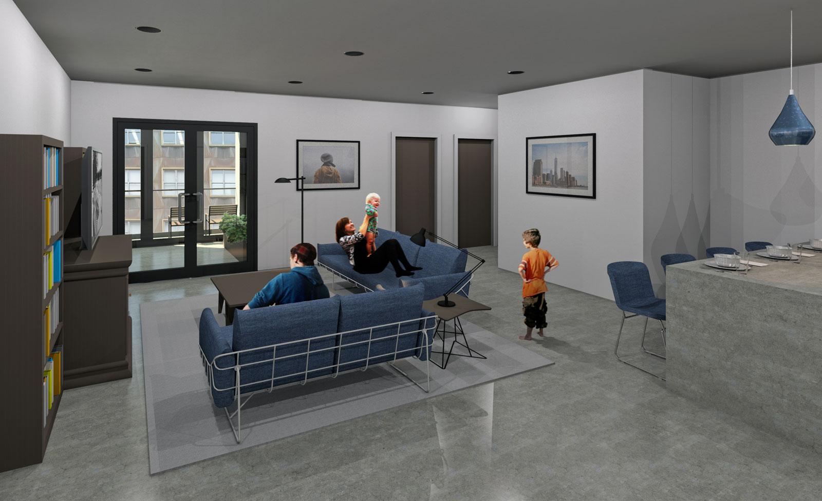 2 Bedroom Interior Final