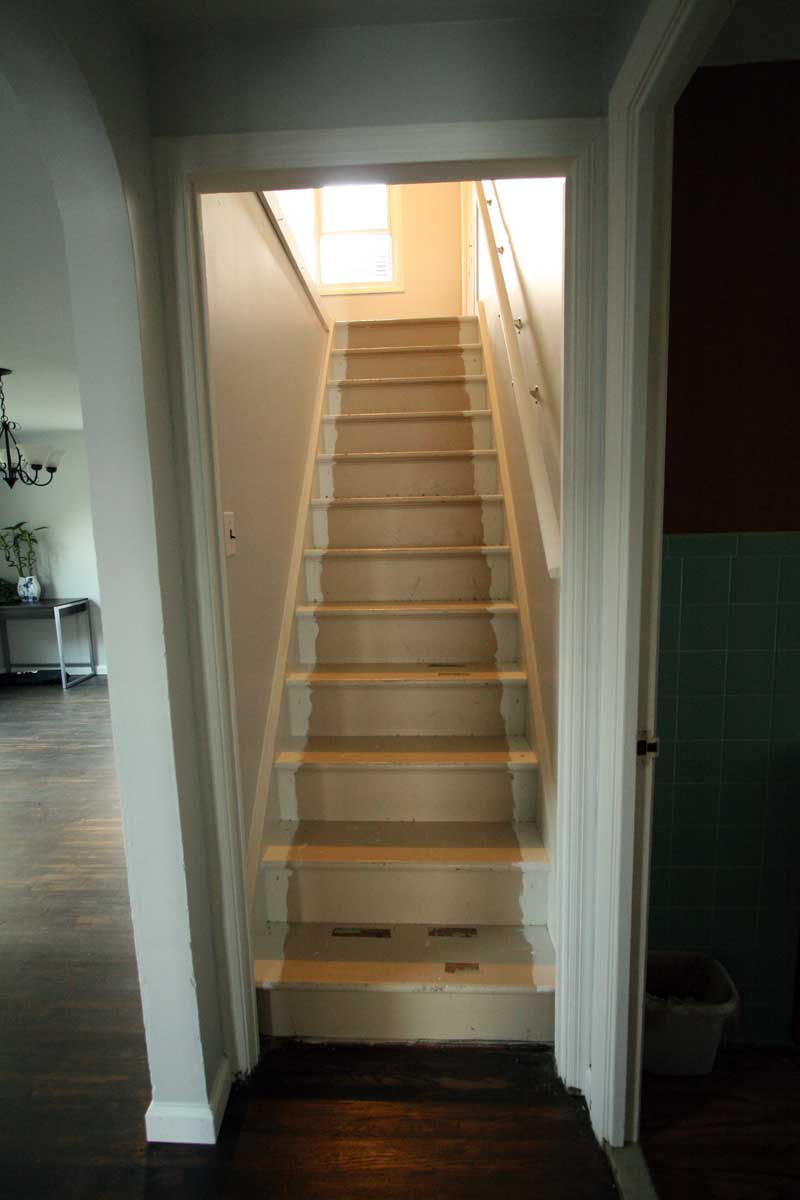 Stair before