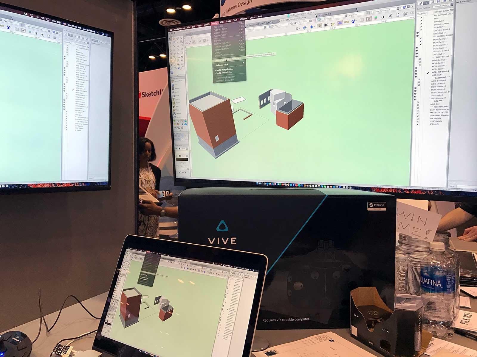 Vectorworks software