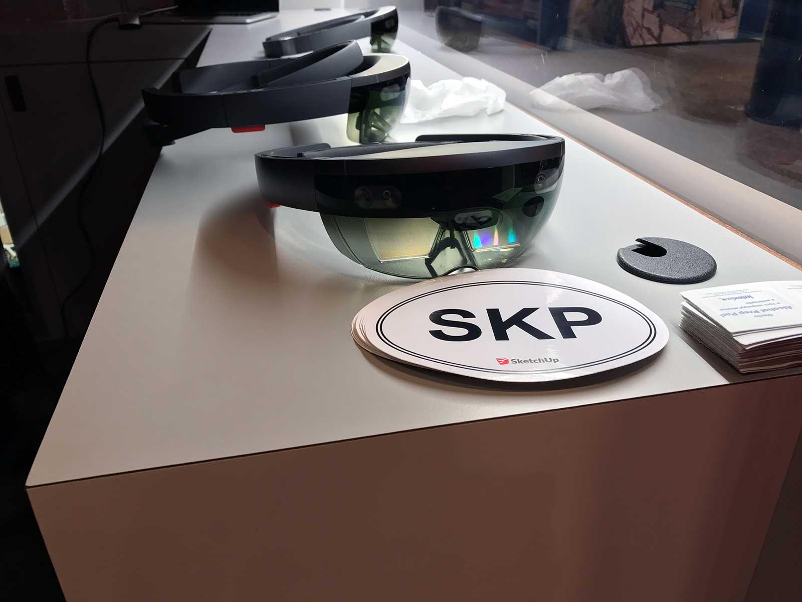 Sketchup HoloLens