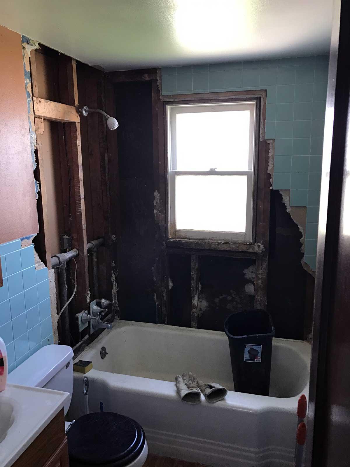 15 Day Bathroom Renovation Demolition 01