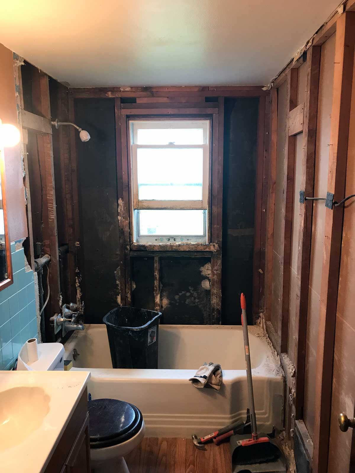 15 Day Bathroom Renovation Demolition 02