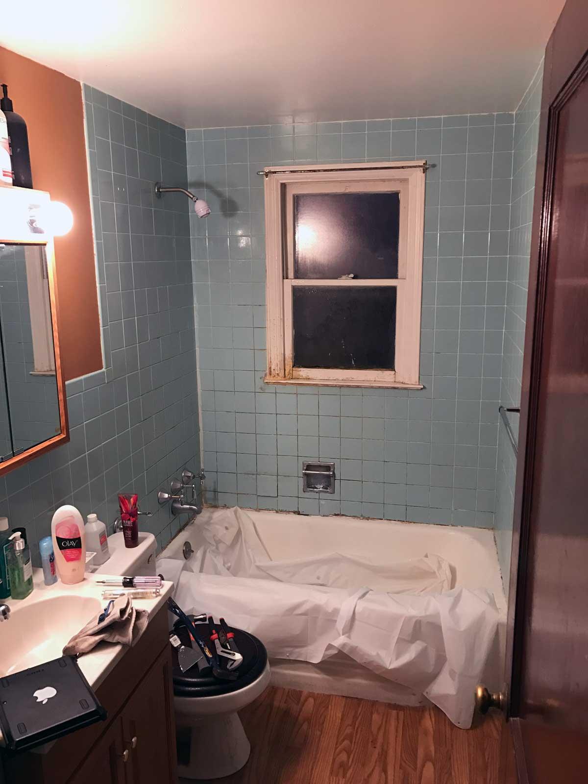15 Day Bathroom Renovation Before 02