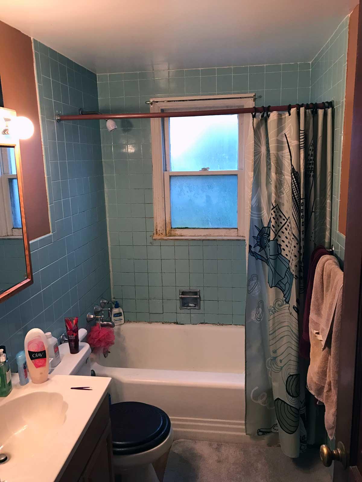 15 Day Bathroom Renovation Before