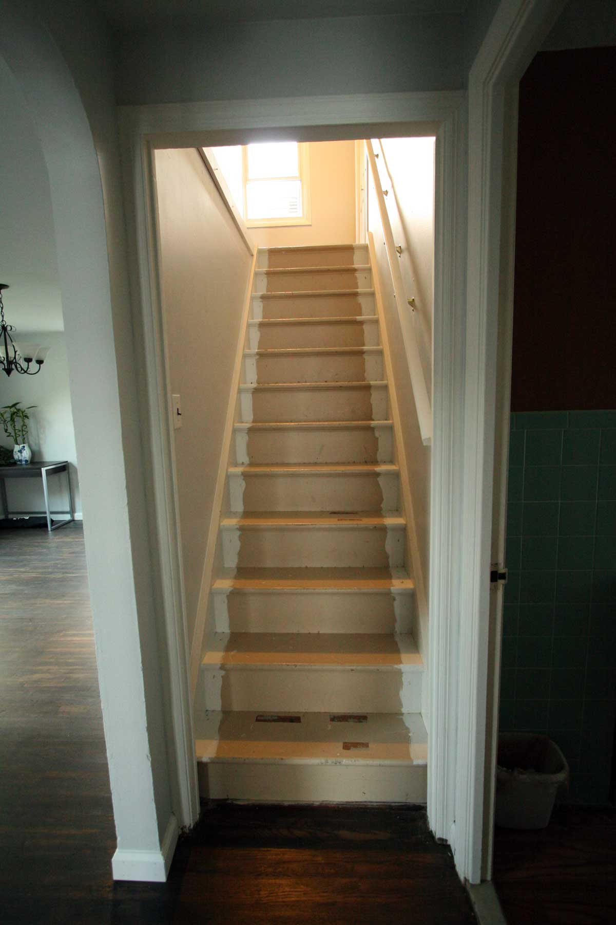 Stair Renovation Before