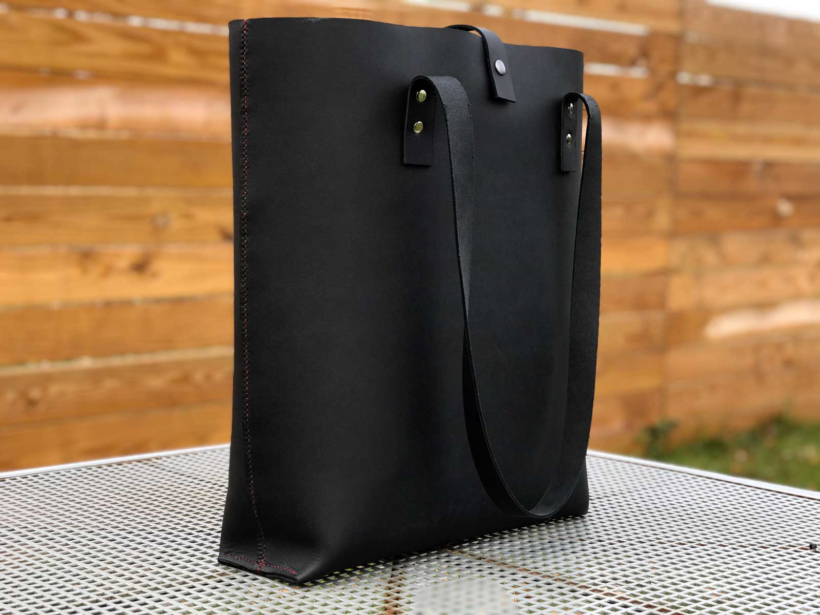 15x30 - Leather Tote Bag