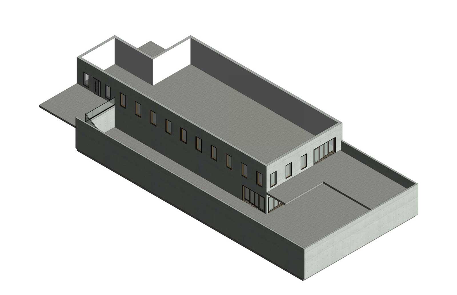 17x30 - Single Family High End Residence Axon
