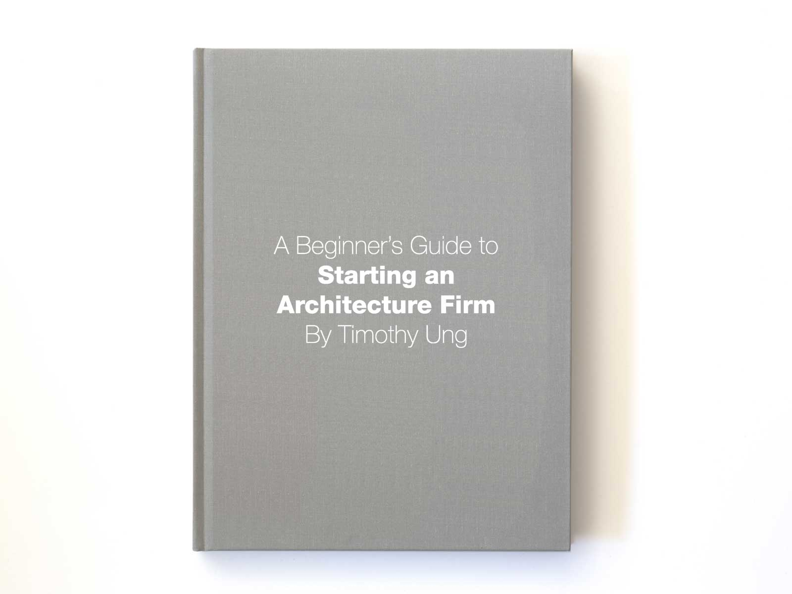 Starting an Architecture Firm Book