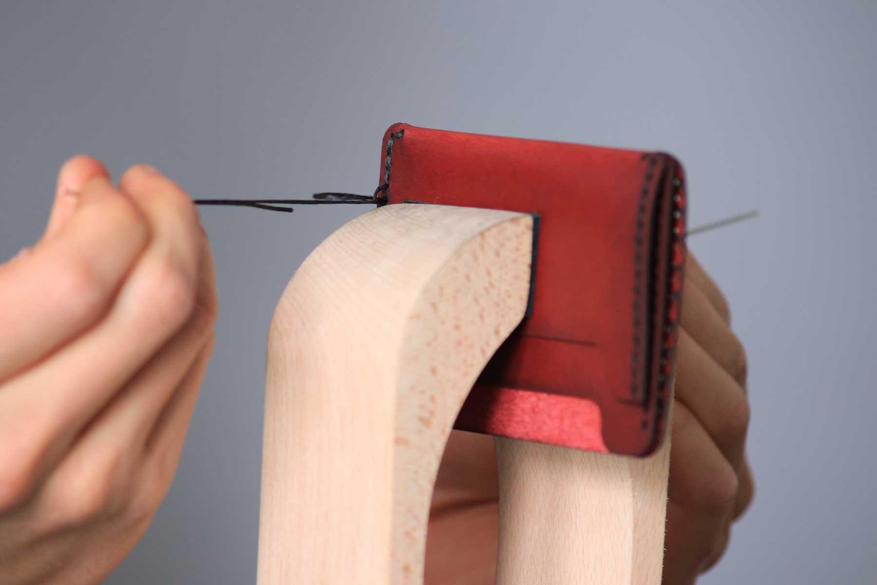 Leather Stitching Process