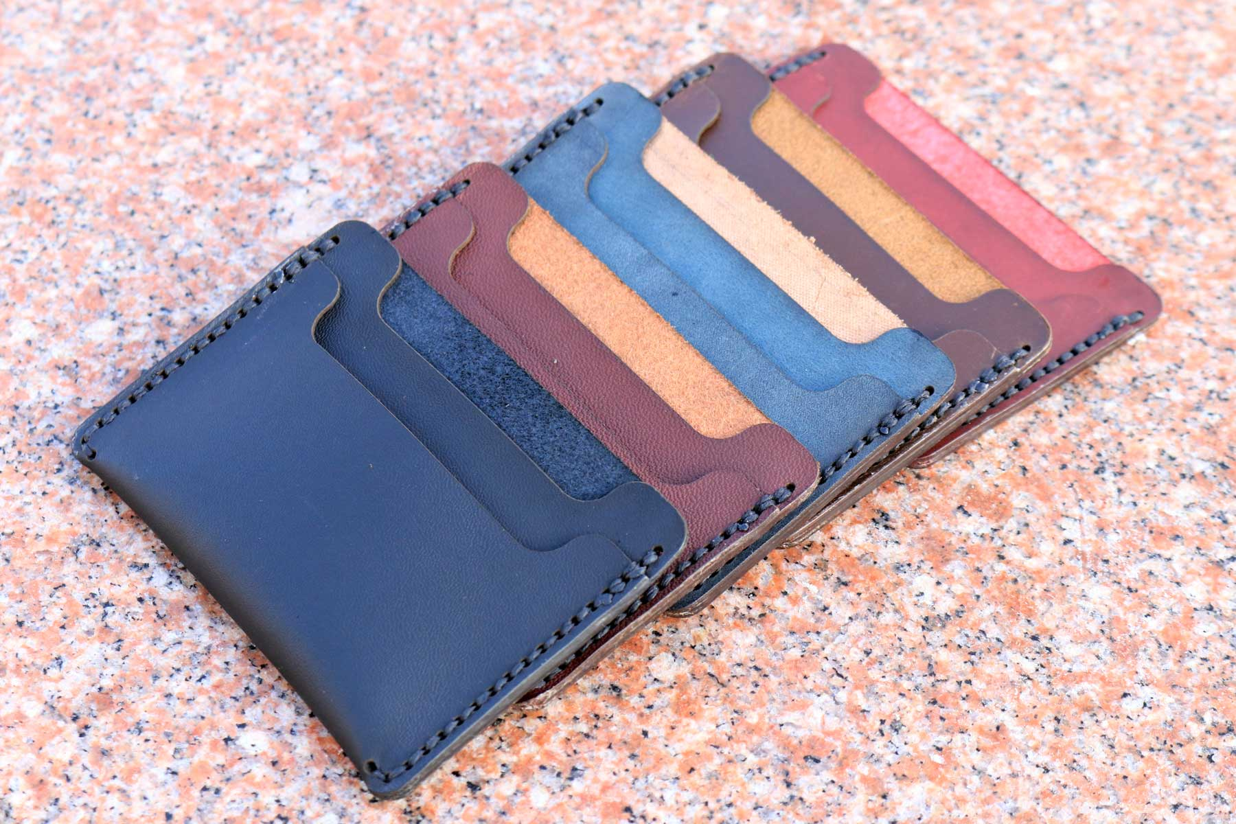 100 Minimal Leather Wallets
