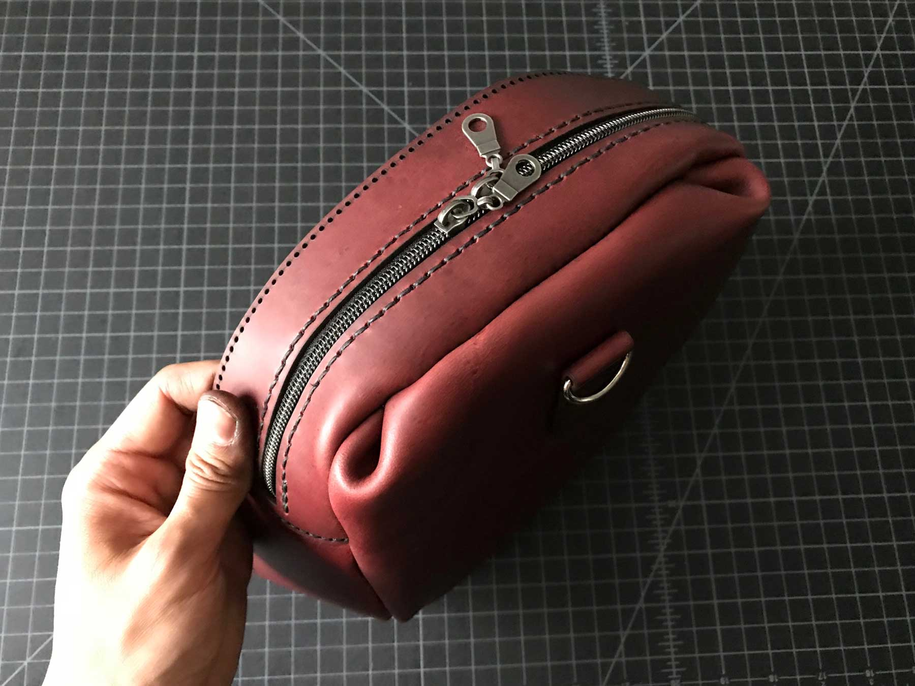 Leather Duffle Bag Error in Craft