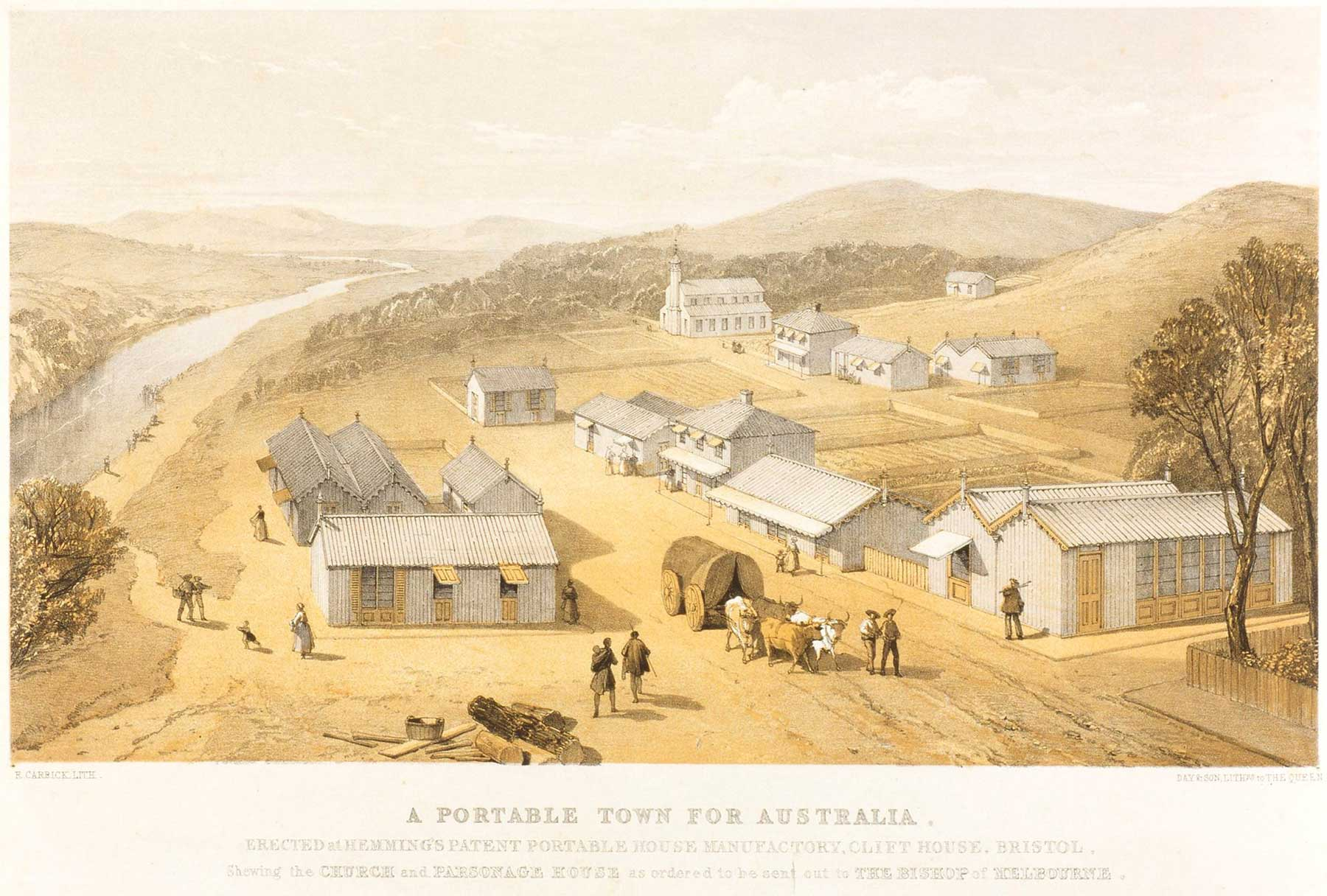 A portable Town For Australia