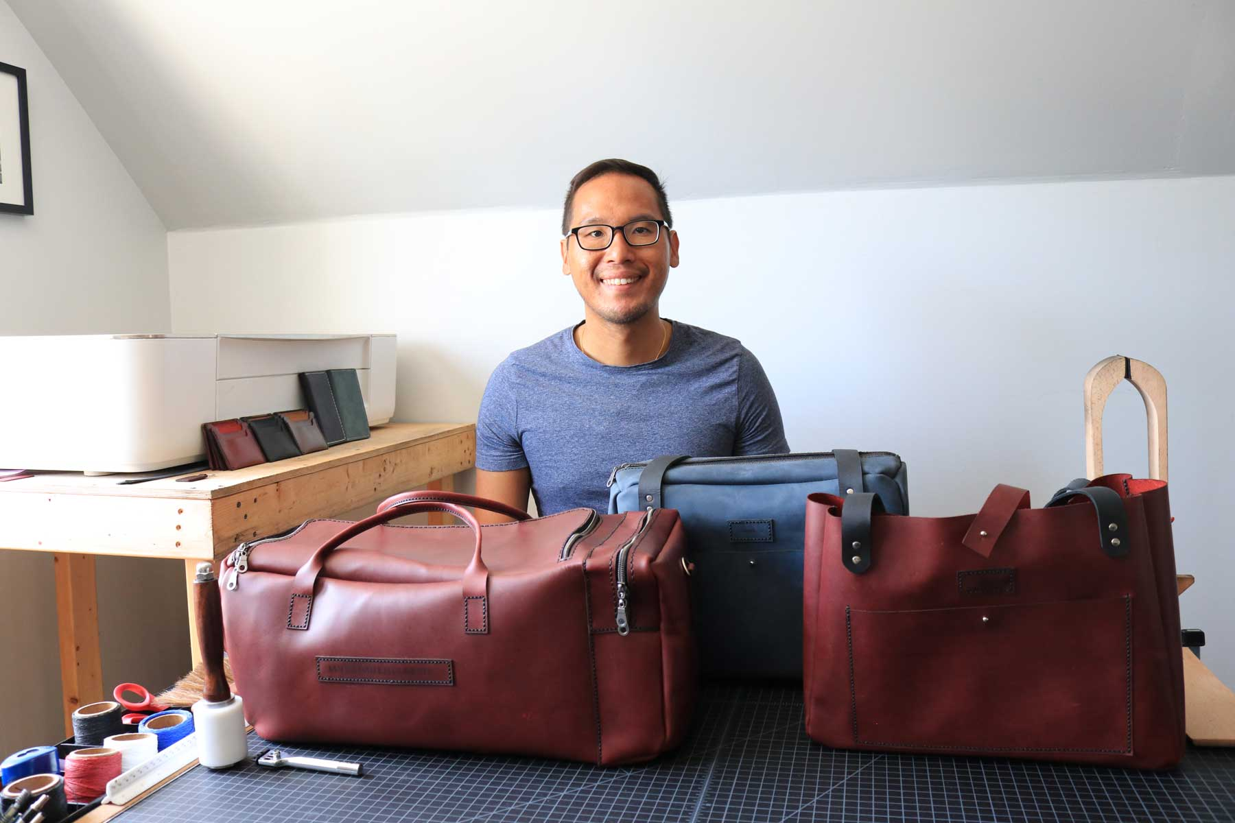Tim Ung Mars Leather Company