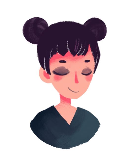 #321 lil portrait inspired by @MarukiHurakami