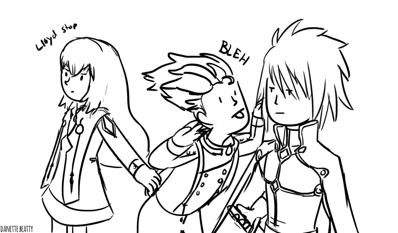#211 is some Tales of Symphonia silliness